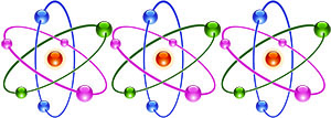 Image of 3 atoms